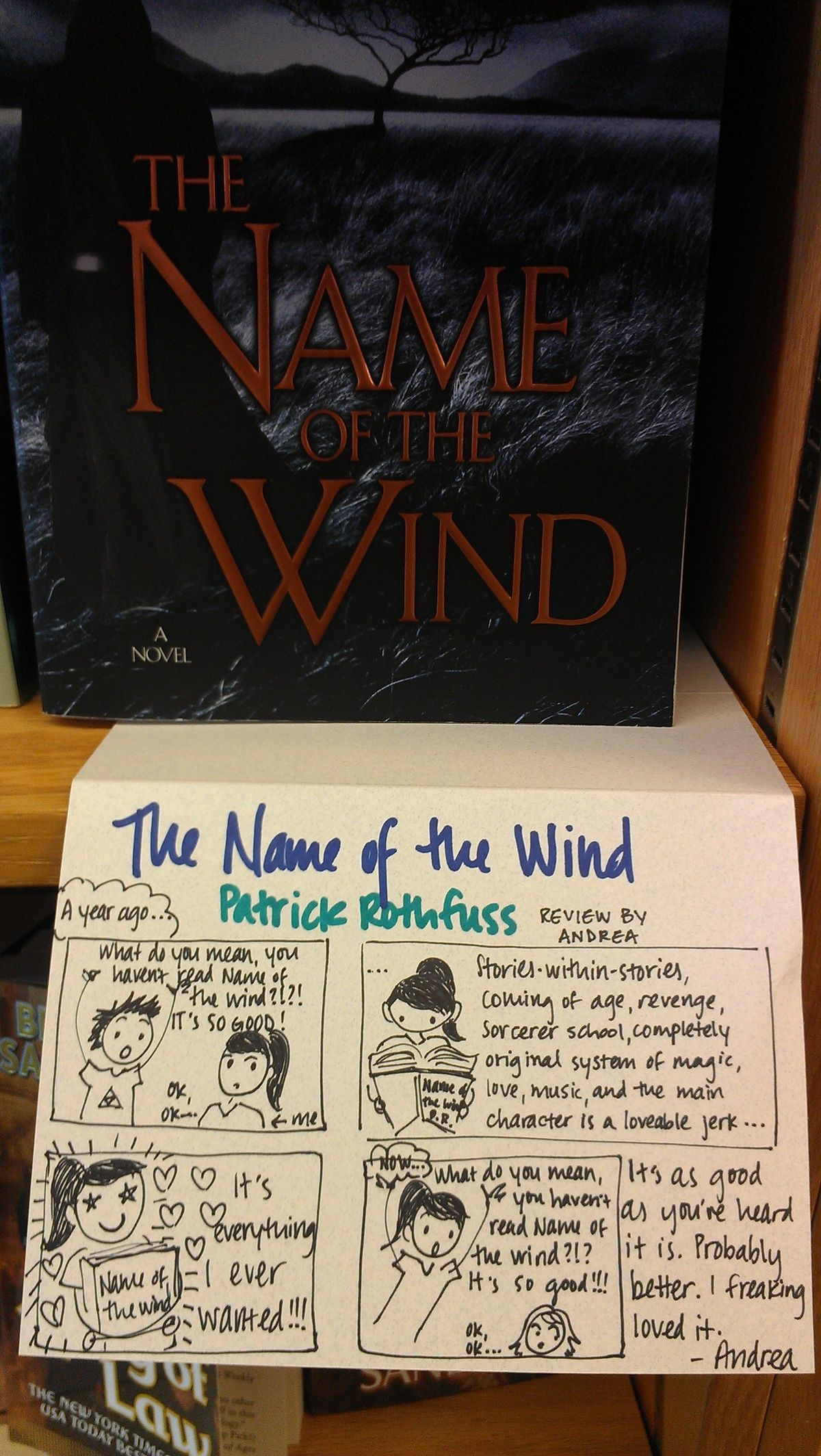 The Name Of The Wind Review : review, Rothfuss, Ideas, Kingkiller, Chronicles,, Man's, Fear,, Patrick