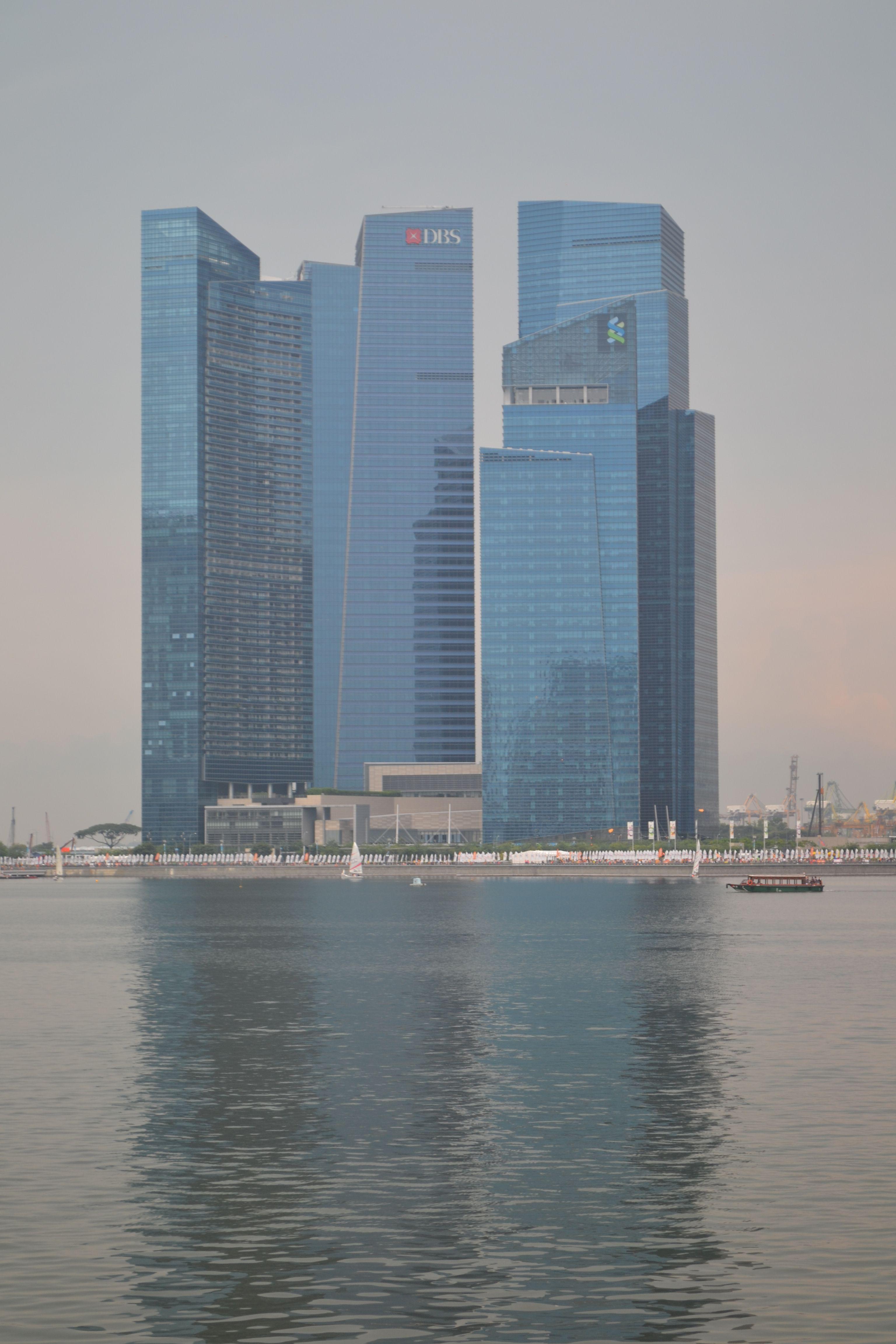 Singapore Banking District Skyscraper Singapore Building