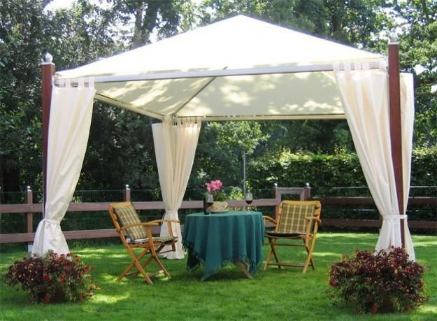 DIY Wooden Gazebo Designs and Decorating Ideas & DIY Wooden Gazebo Designs and Decorating Ideas | Wooden gazebo ...