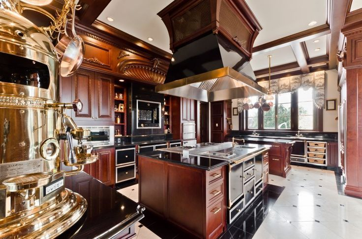 La Cornue Céline Dion Luxe Kitchen