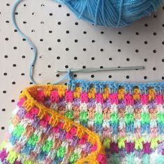 Weekend Project: How to Crochet A Snuggle Stitch B