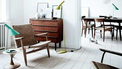CH15 Stuhl Hans Wegner Style - Holz - Wohnzimmerstühle | Interior ...