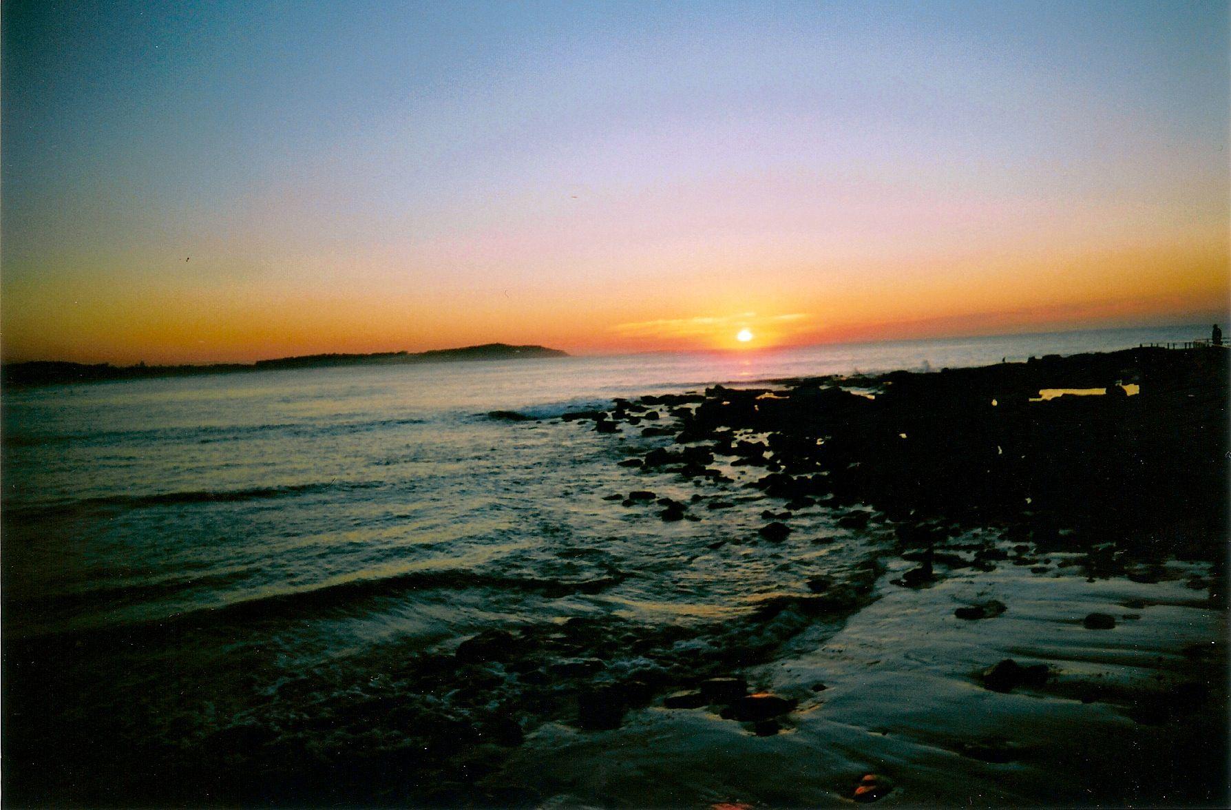 Sunrise at Dee why Beach, Sydney