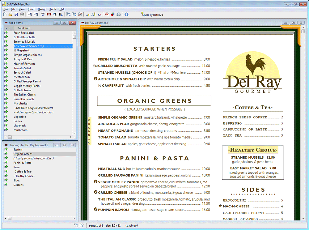 how to make a restaurant menu on microsoft word juve
