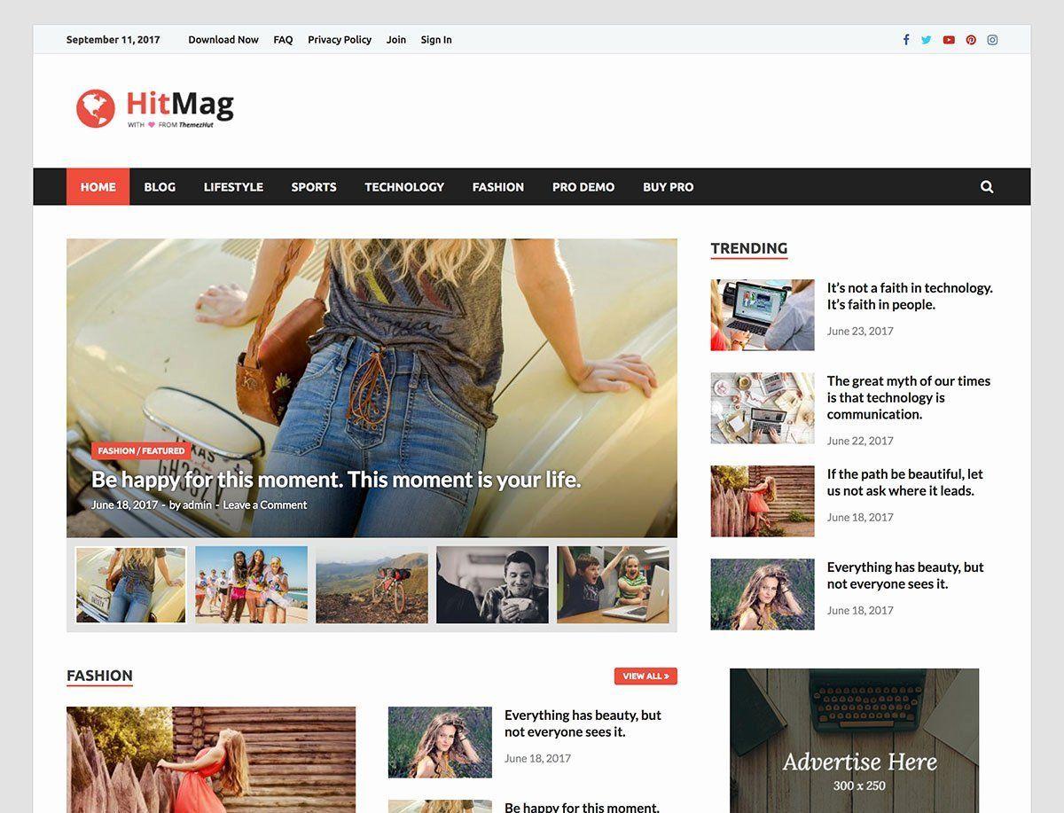 Responsive Web Design Html Template Free Download Lovely 40 Best Free Wordpress R In 2020 Magazine Theme Wordpress Templates Free Download Responsive Web Design