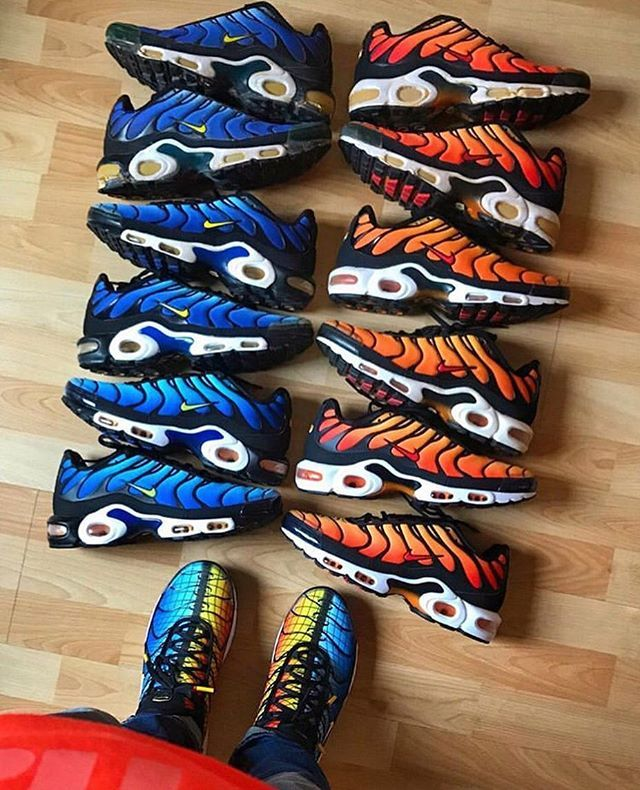 Pin by TR3Y WAY on Sneakers | Nike air max tn, Nike air max