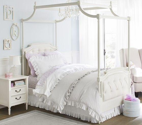 Blythe Tufted Canopy Bed | Camas y Comprar