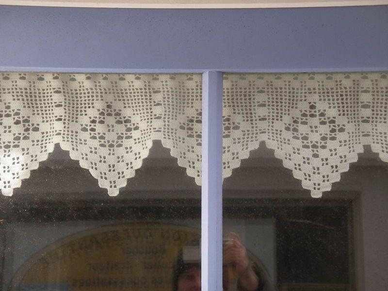 Modele rideau breton crochet gratuit recherche google rideau pinterest recherche google - Faire ses rideaux au crochet ...