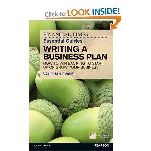 Ft Writing A Business Plan  Enterprise Space