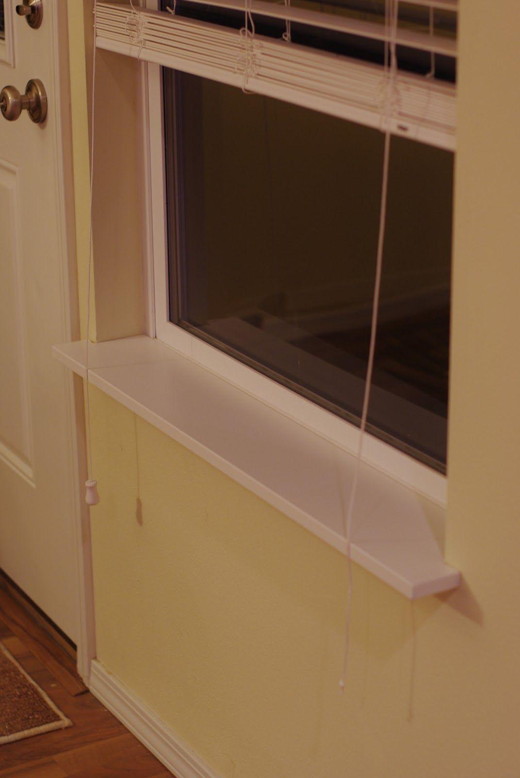 DIY Window Sills   Diy window