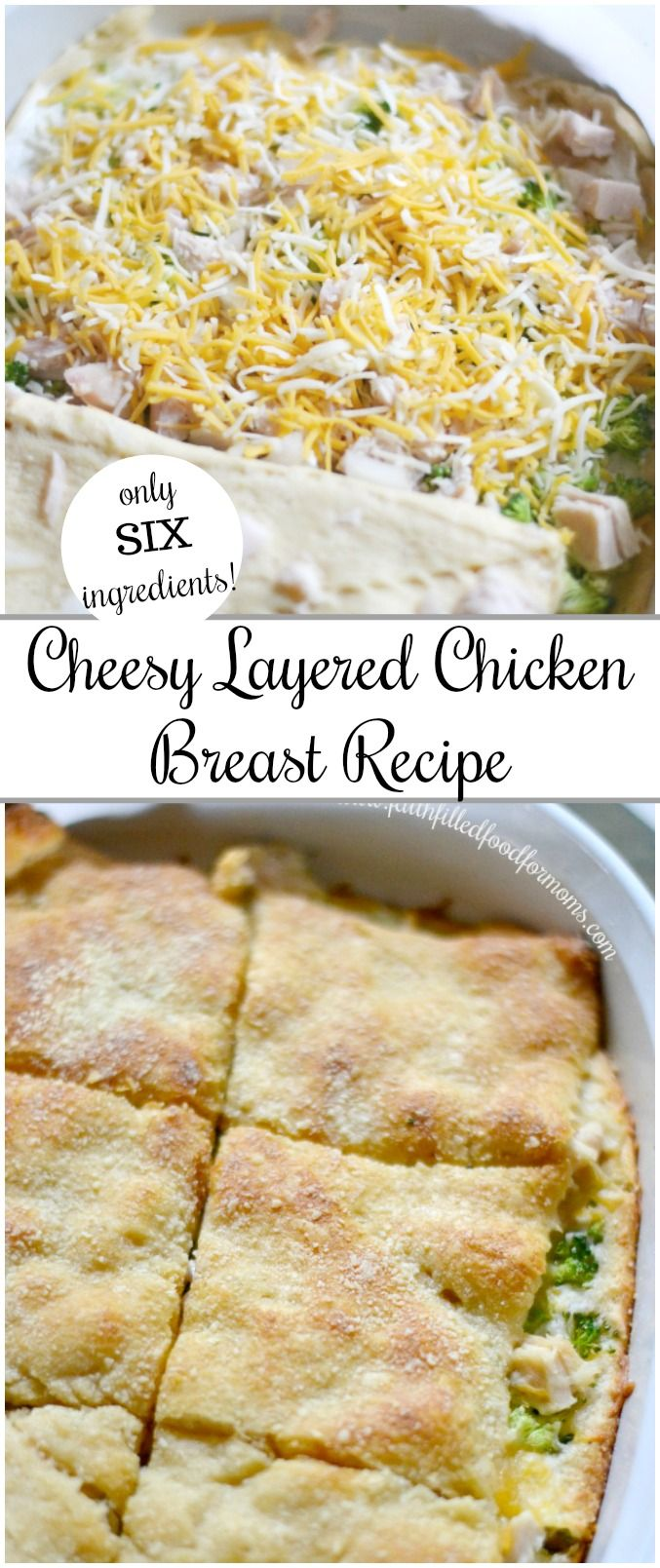 Easy Cheesy Layered Chicken Breast images