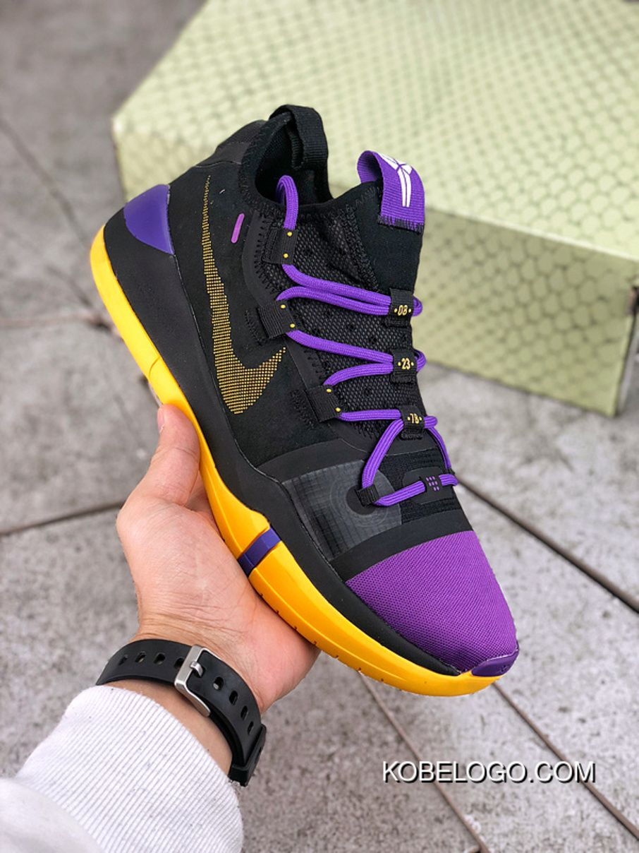 premium selection 2b2d8 78123 Basketball Shoes Nike Kobe.A.D Reactzoom Pink 617H1732 Black Purple  Colorways Size Top Deals