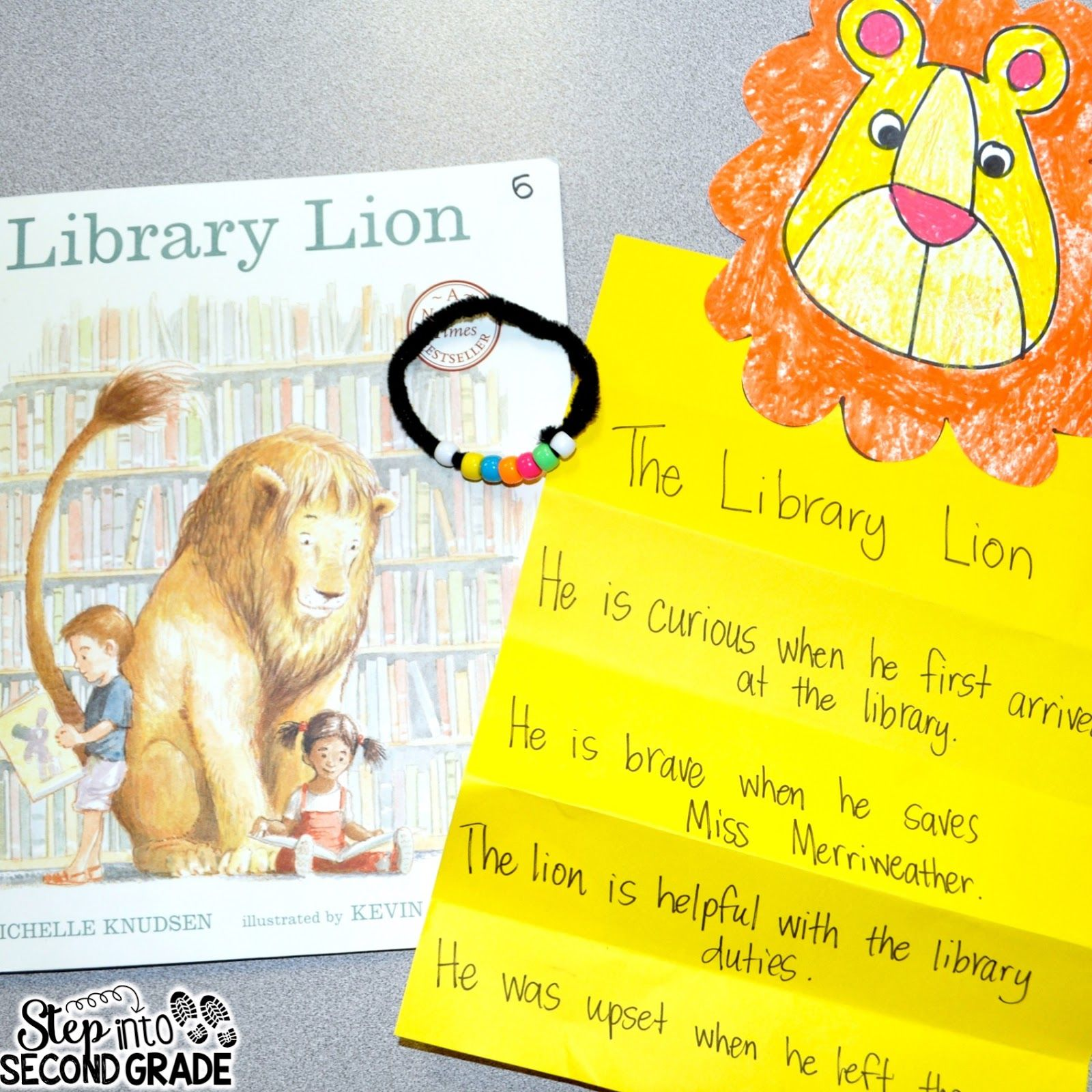 medium resolution of This week the students have been reading Library Lion . Library Lion is one  of the stories from o…   Teaching character