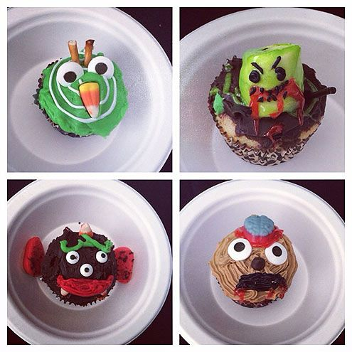 Photos Mindy Kaling S Best Food Instagrams Food Yummy Food Monster Cupcakes