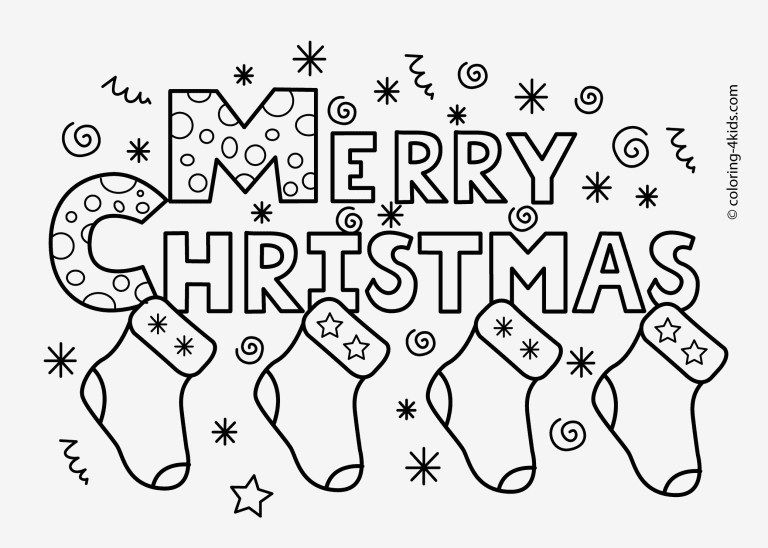 Christmas Coloring Pages To Print Free Christmas Coloring Pages To Print Free Lezincnyc - entitlementtrap.com #coloringpagestoprint