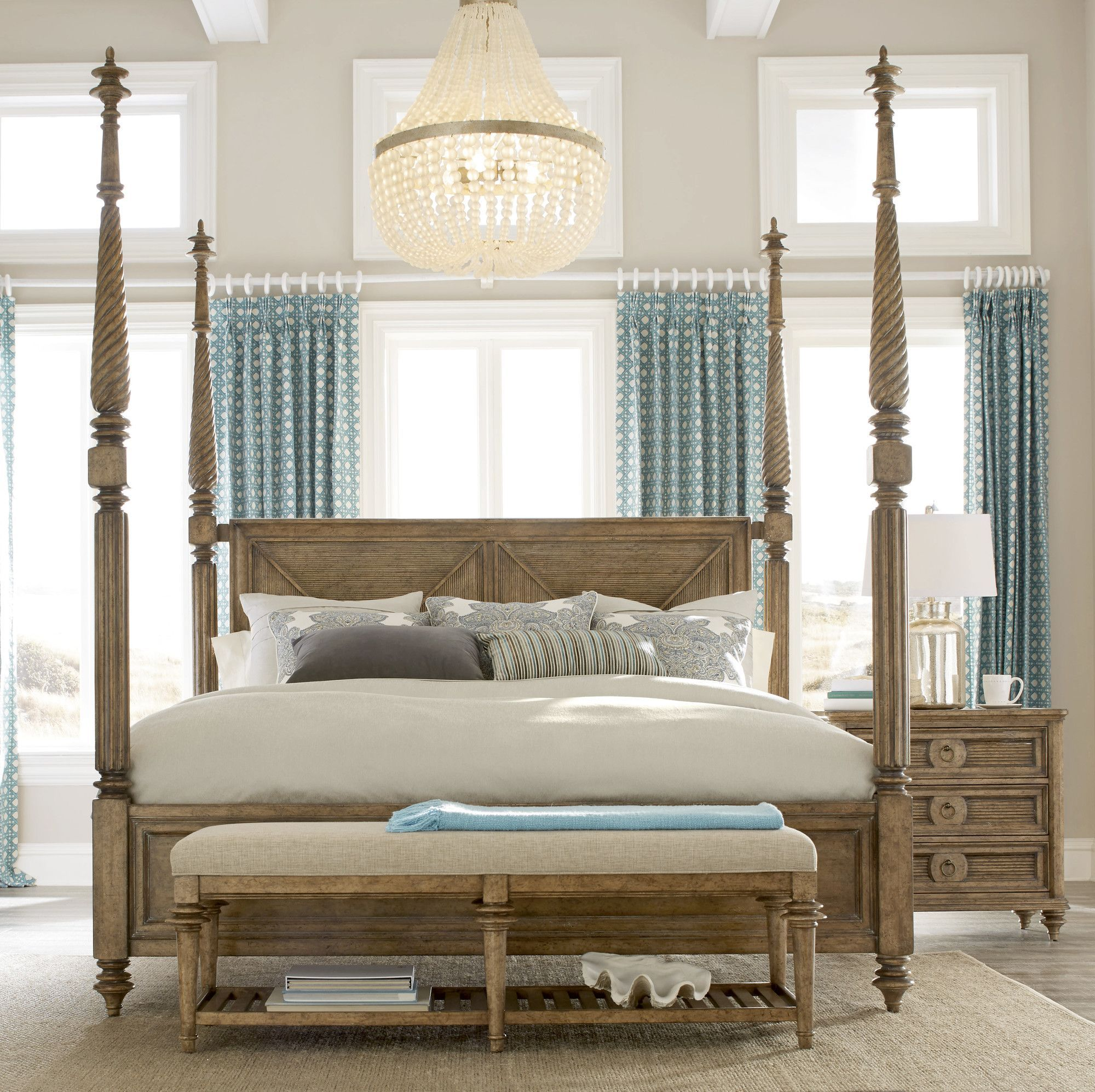 studio bedroom bed beach coastal themed design fresher for master beds fascinating home theme guest