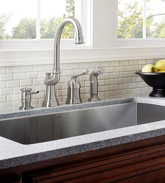 Low cost kitchen updates faucet sinks and stylish workwithnaturefo