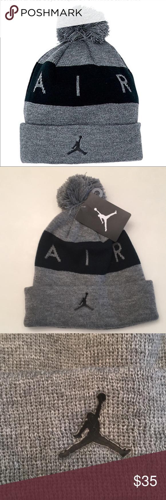 c70c1869034ef Jordan Kids Beanie Hat The classic knit hat gets the Air Jordan treatment  on the Kids