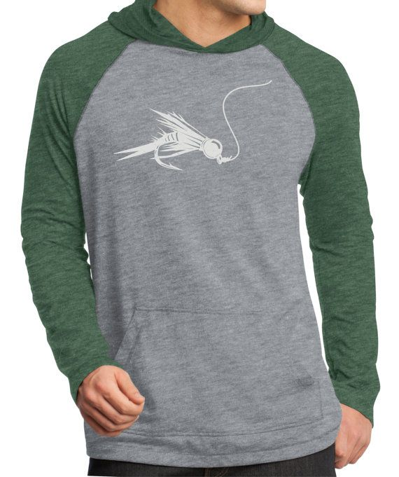 fly fishing long sleeve hooded t shirt fishing shirt by