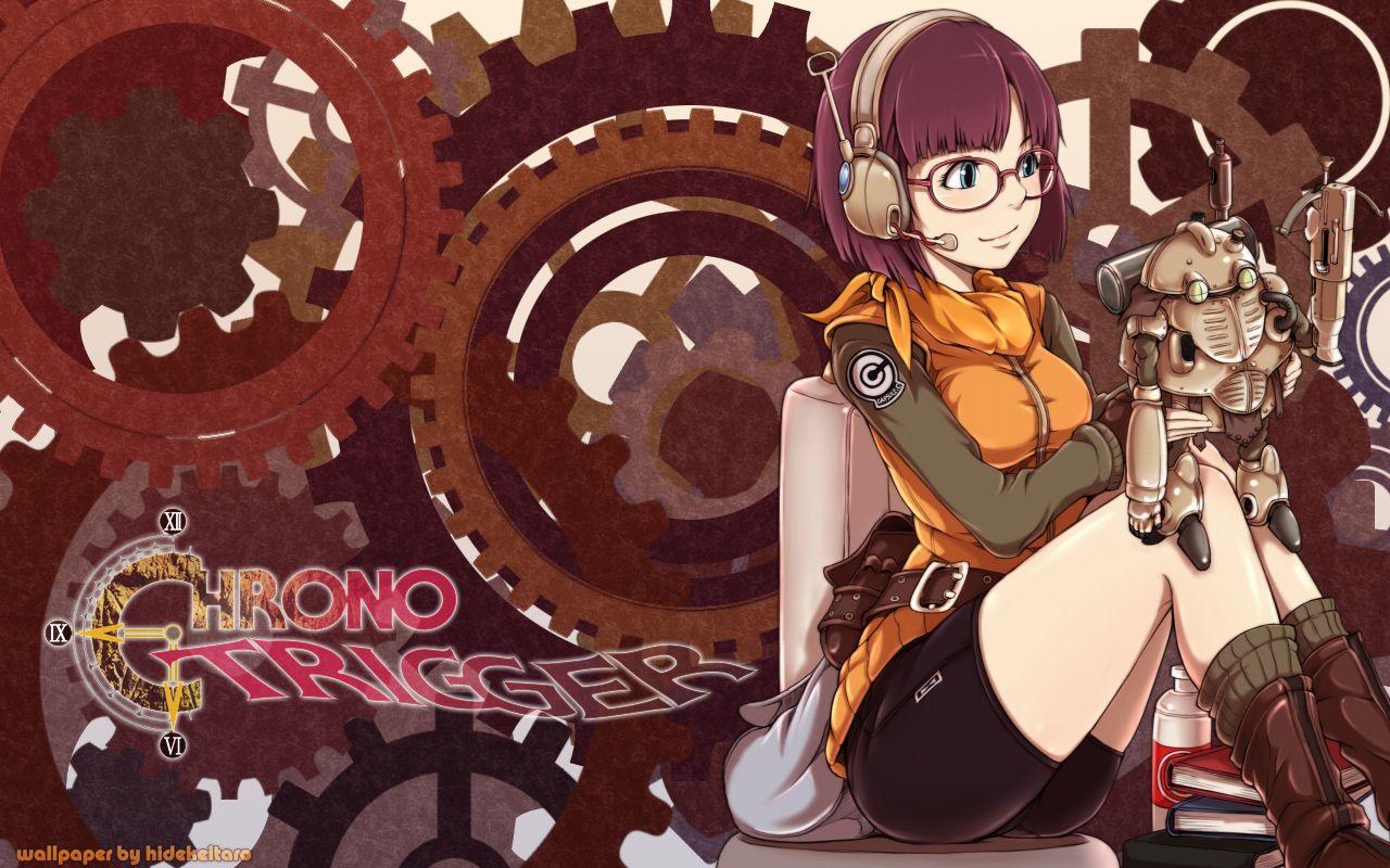 Lucca Gears By Hidekeitaro Deviantart Com On Deviantart Chrono Trigger Anime Art