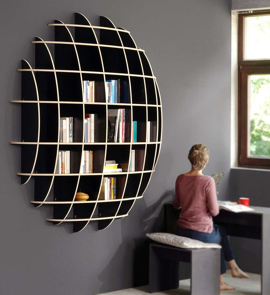 Sculpturell And Yet Practical Brilliant Shelf Retail Display