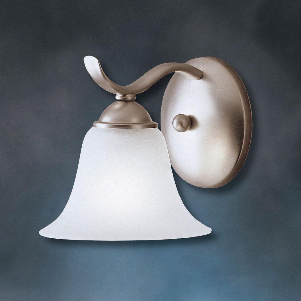 Kichler Dover 1 Light Wall Sconce & Reviews   Wayfair ... on Wayfair Bathroom Sconces id=82480
