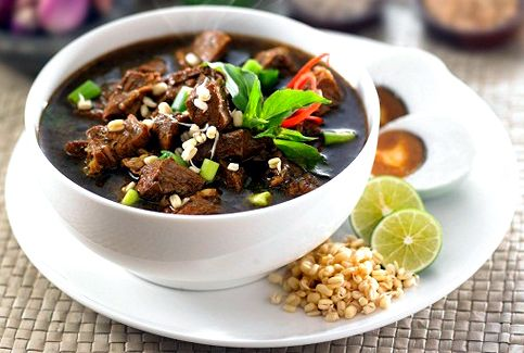 Rawon The Black Soup From East Java Indonesia Resep Masakan Masakan Indonesia Resep Daging