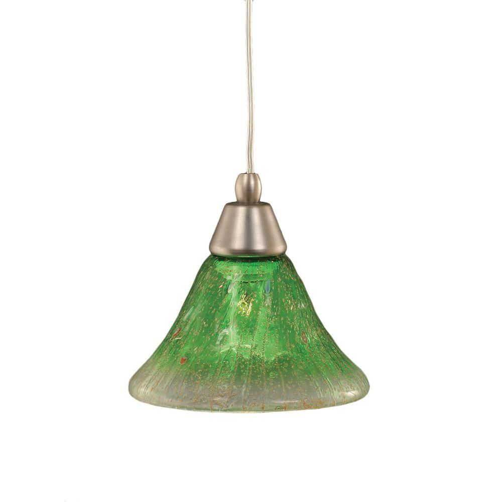 Filament Design Concord 1-Light Brushed Nickel Pendant