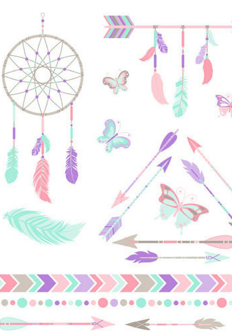 33+ Dream catcher feather clipart ideas