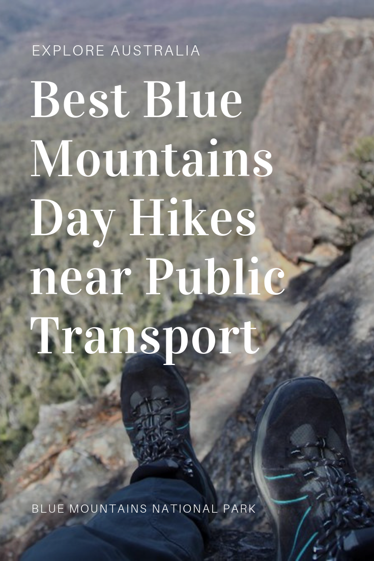 Best Blue Mountains Day Hikes near Public Transport