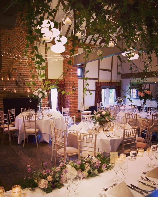 Made Hannah's forest-y luxe-y dreams come true @lainston_house on Saturday…