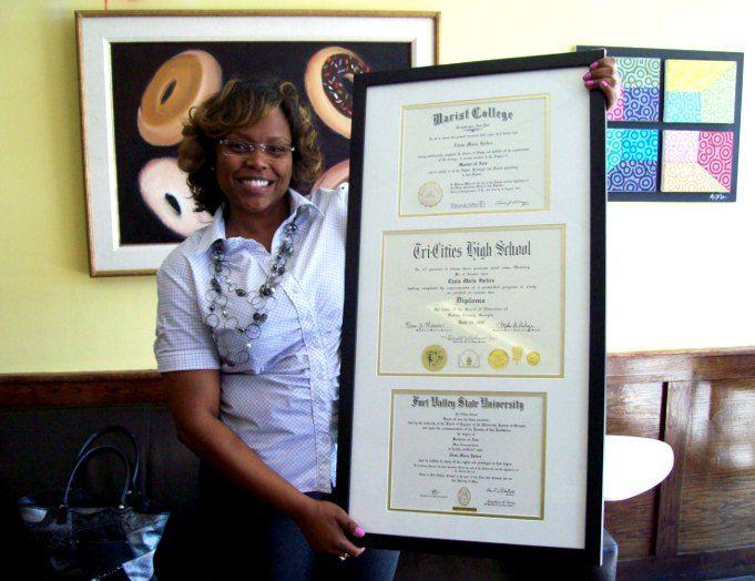 Diploma Frames Atlanta - Mobile Framer - Custom Framing (678) 468 ...