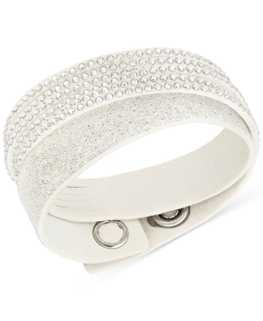 Swarovski Duo Crystal Wrap Bracelet