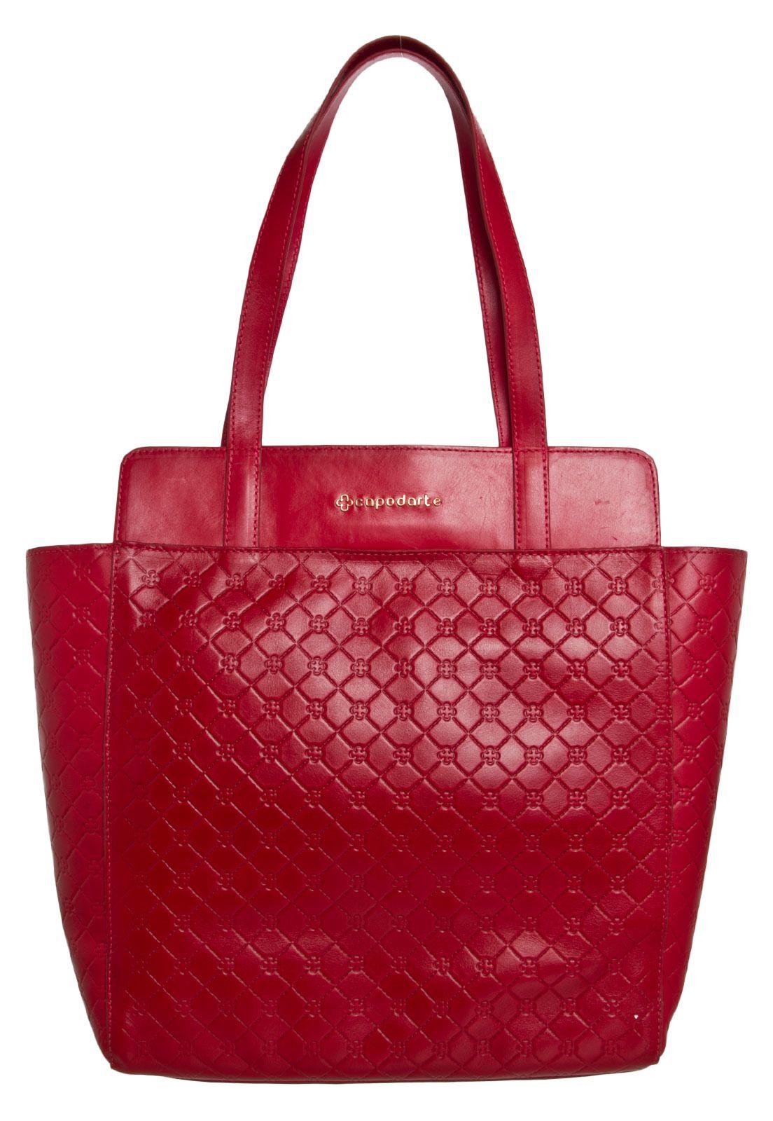 d7904208f Bolsa Capodarte Monograma Vermelha | BOLSAS | Bags, Tote Bag e Fashion