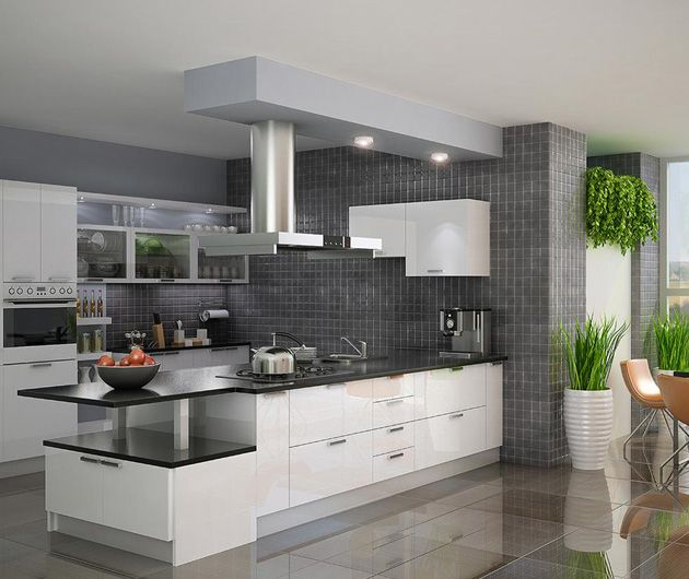 Pin On A Modular Kitchen: Kitchen Cabinets, Modern Kitchen Cabinets