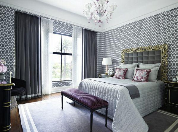 coole gardinen ideen für sie - 50 luftige designs fürs moderne ... - Gardinen Wohnzimmer Grau