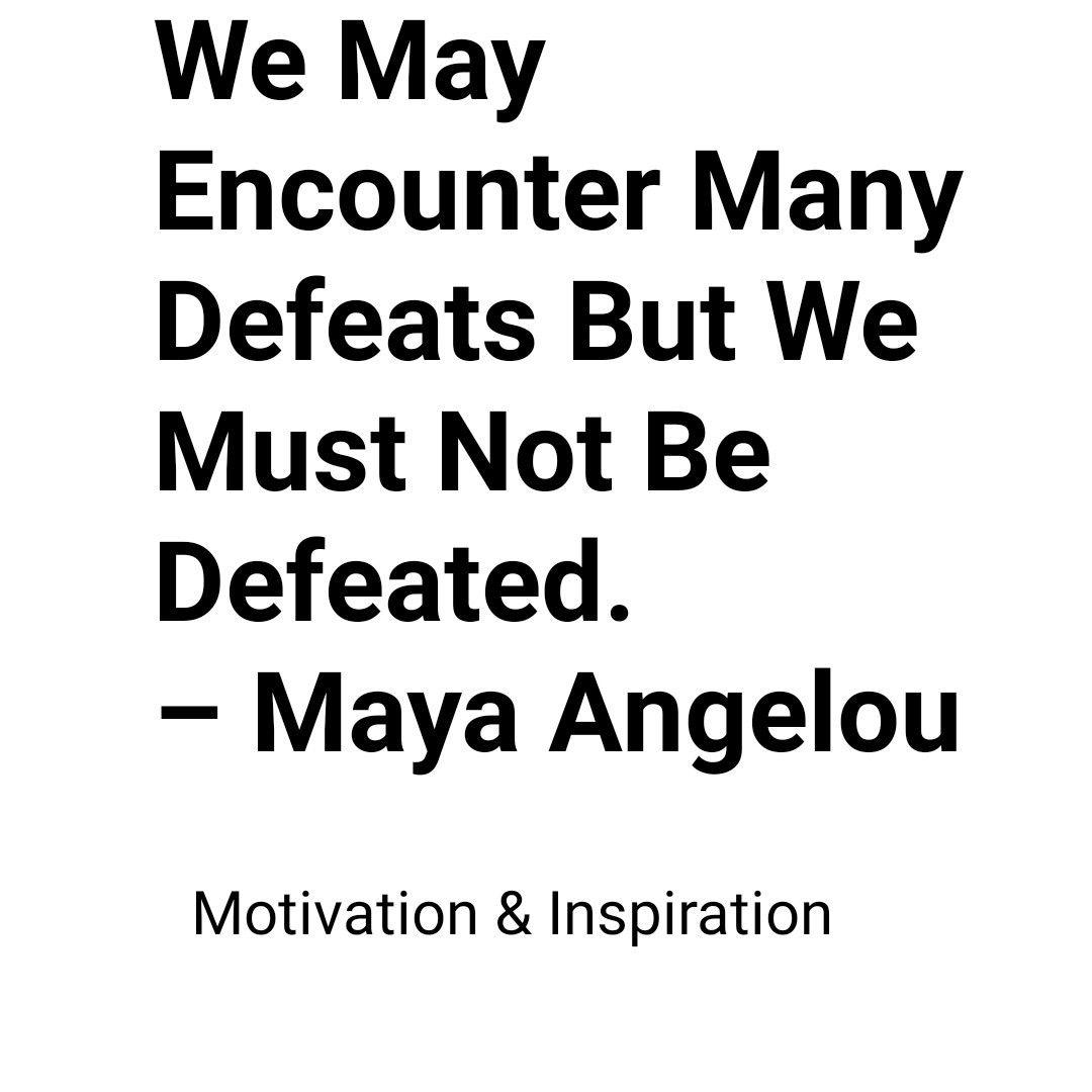 motivation Motivation & inspiration Motivation