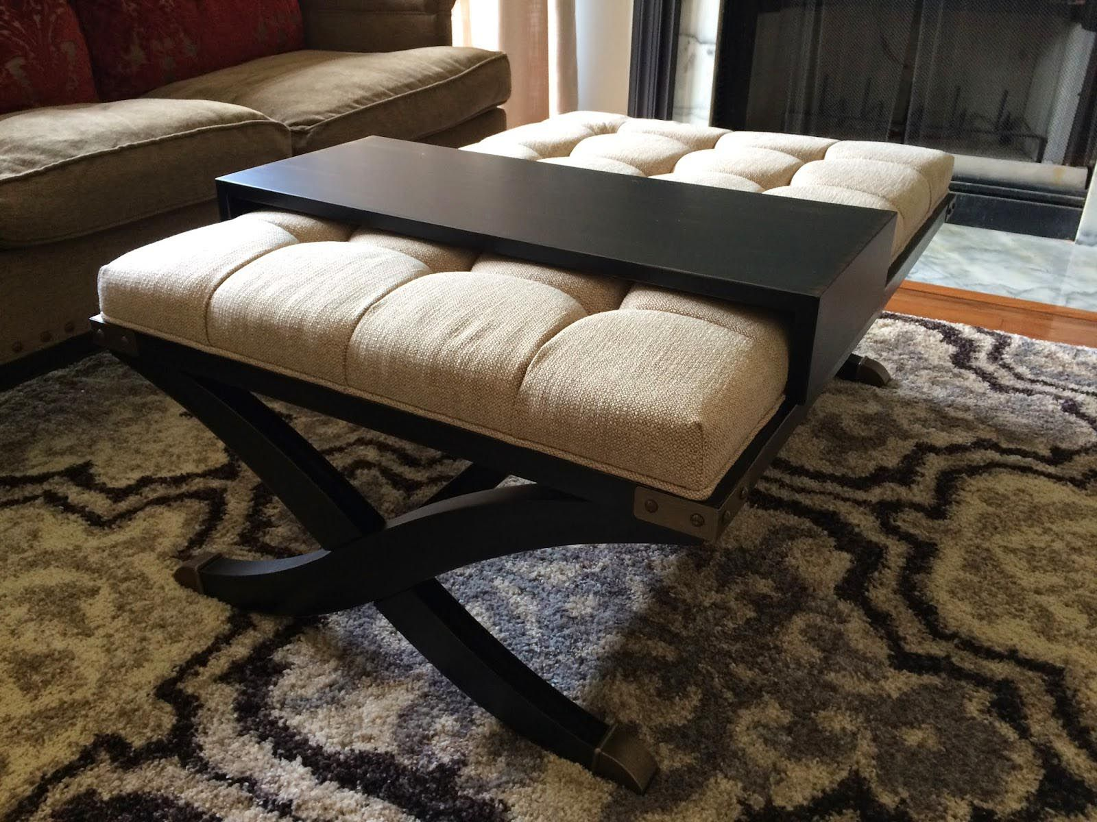 Padded Coffee Table Cover