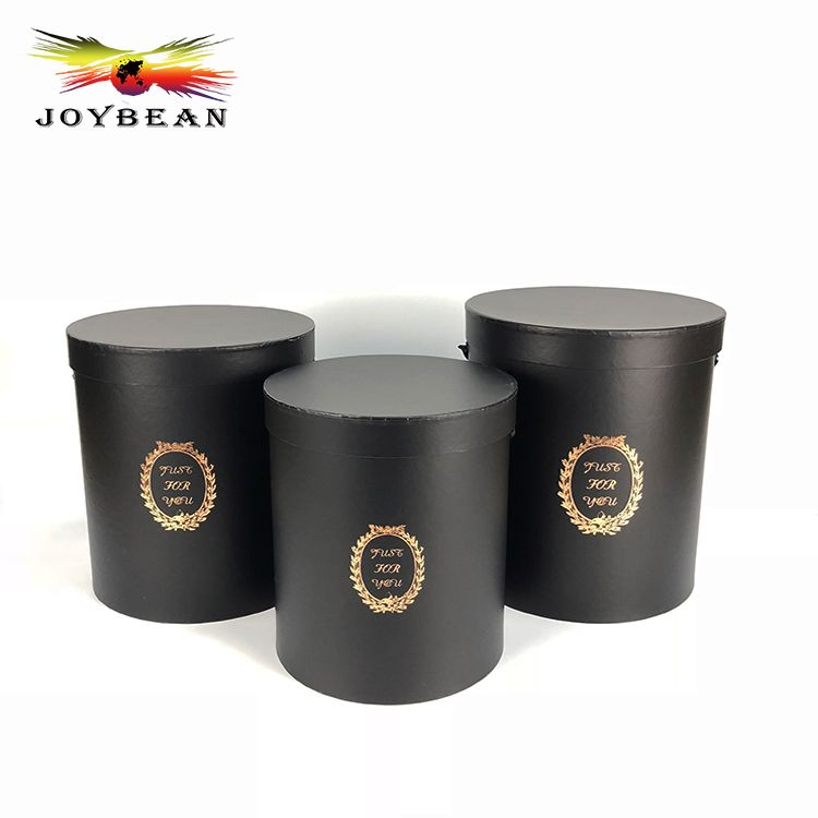 High quality wholesale luxury round paper flower packaging