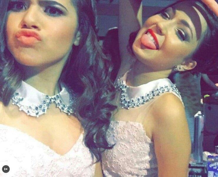 9d95aa8e846 Mharessa e Maisa (Debutantes) Da Festa De 15 Anos Da Larissa Manoela!   SonhosDeLari