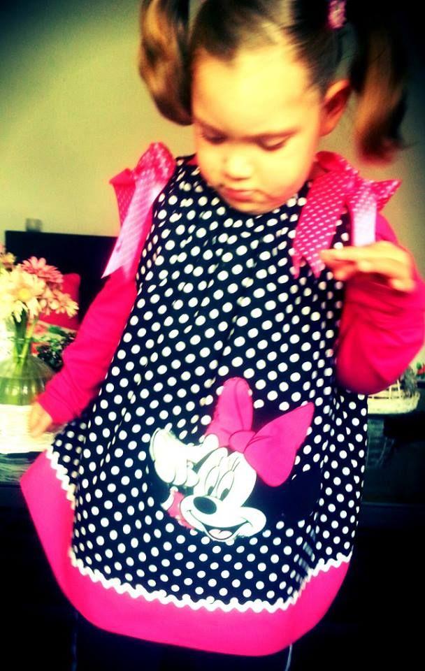 Minnie Mouse Pillowcase Dress - DIY Foto-tuto