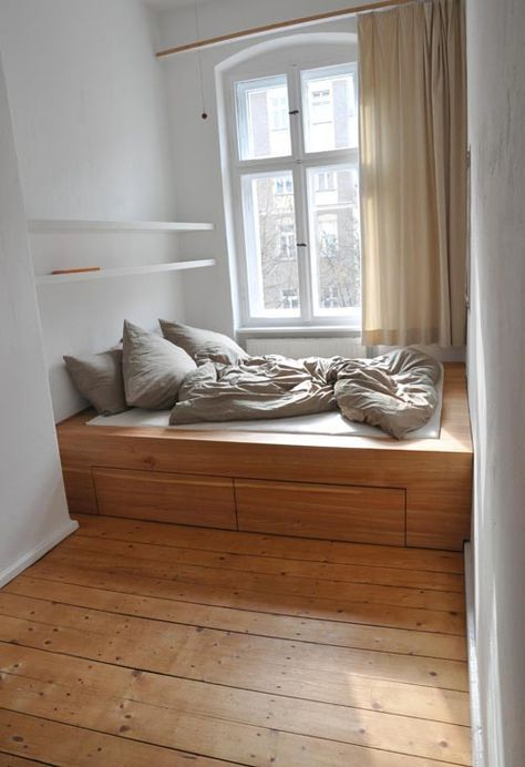 Photo of Small spaces again. Another Berlin-based carpenter — a friend has worked with h…