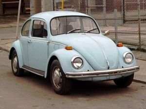 Blue beetle. Fond memories. Different world. We drove slower, that's for sure ;-…
