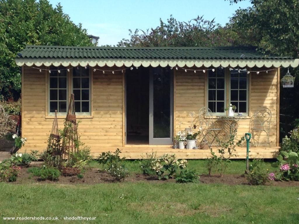 Bobbin Cottage is an entrant for Shed of the year 2015 via @unclewilco  #shedoftheyear