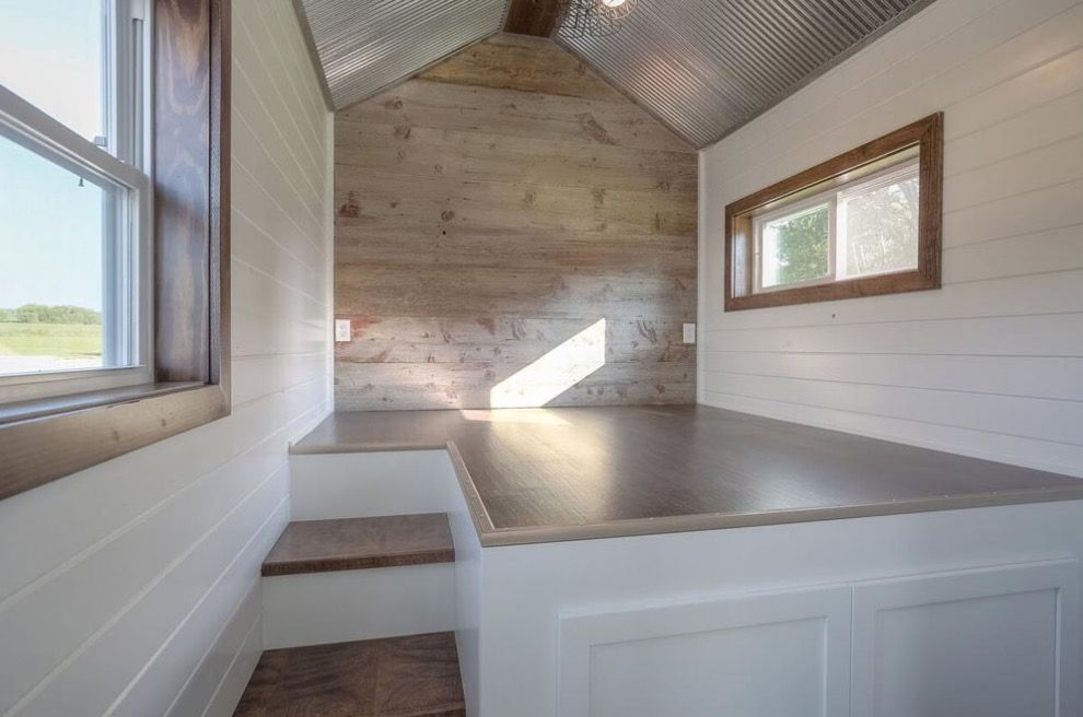 40ft Tiny House Built Using A Disguised Shipping Container Tiny House Plans Tiny House Living House Built