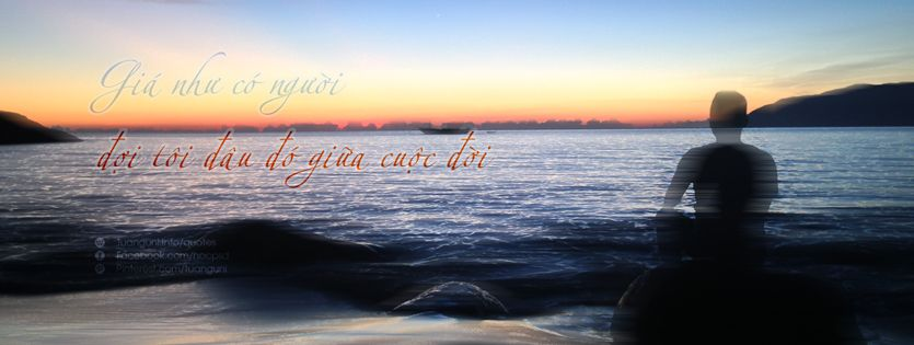 Giá như có người đợi tôi đâu đó giữa cuộc đời ...  #http://tuanguni.info/quotes