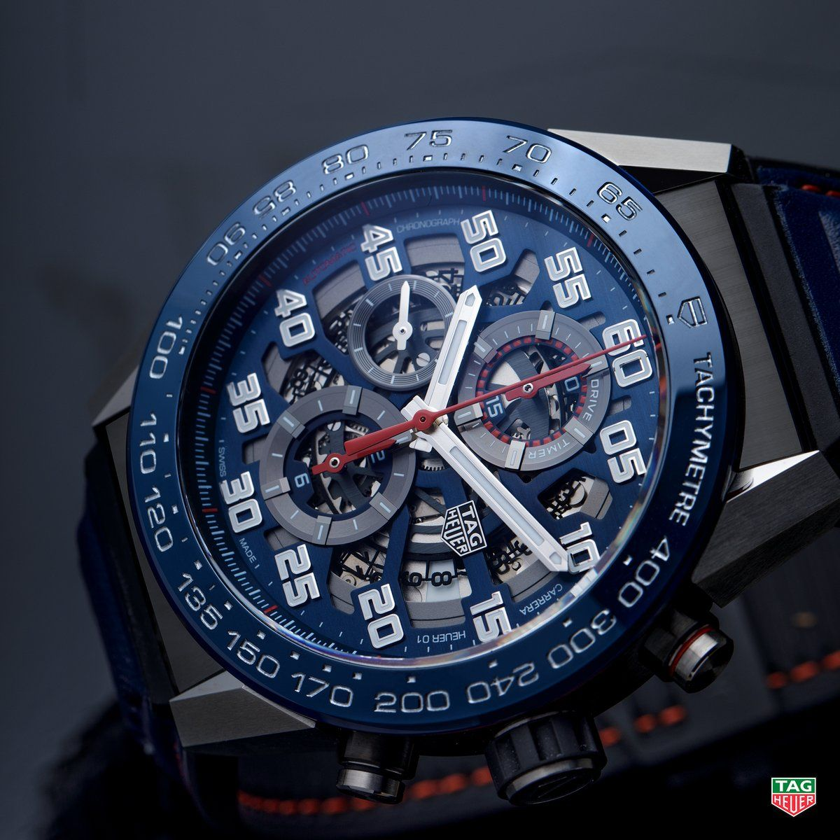 24e72a54f73e TAG Heuer The TAG Heuer Carrera Heuer-01 Red Bull Racing Special Edition