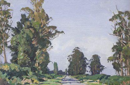 Country Road Archibald Frank Nicoll Old Art Art Club Art History