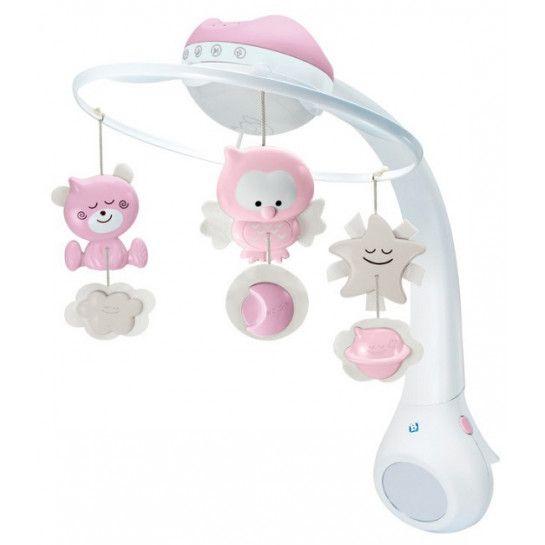 B Kids Pink 3 in 1 Muziekmobiel & Projector   MamaLoes