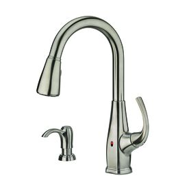 Selia Stainless Steel 1 Handle Pull Down Touchless Kitchen Faucet